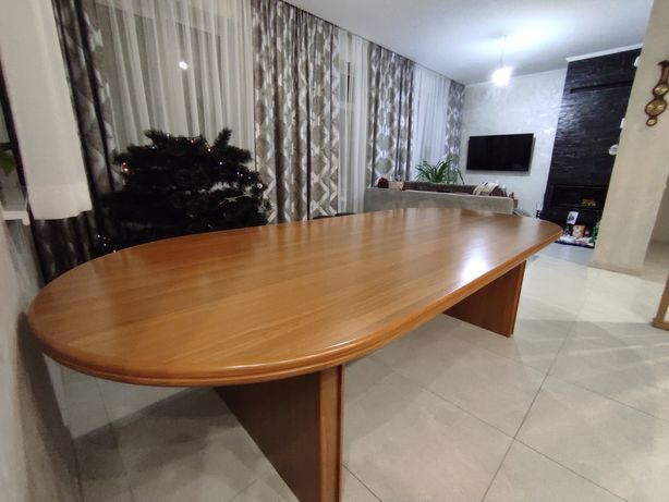 Стол офисный директора для переговоров в кабинет мебель люкс дерево