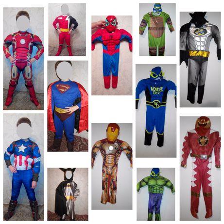 Новогодний костюм халк капитан америка железный человек бетмен паук