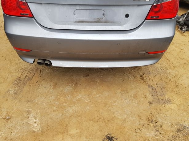 Sprzedam zderzak tylni do BMW e60 sedan kod Silbergrau METALLIC