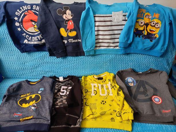Bluzy14 sztuk,5 nowych 122-128