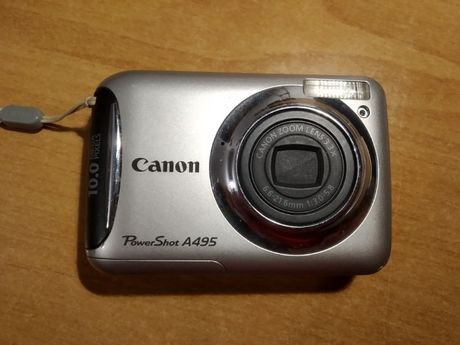 Фотоапарат цифровий Canon Powershot A495