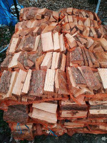 Drewno opalowe worki
