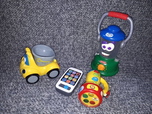 Chicco, fisher price, playskool zabawki interaktywne