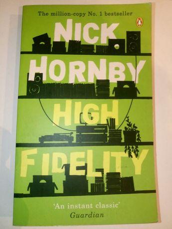 """Nick Hornby """"High Fidelity"""" książka po angielsku"""