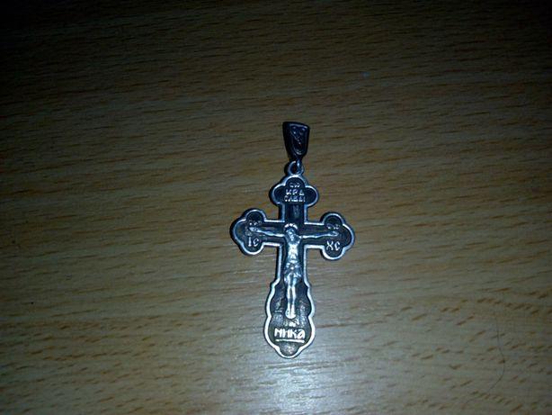 Обмен/Продам серебряный крест 925