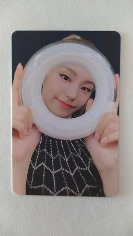 karta Yeji Itzy lightring kpop photocard