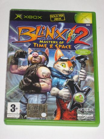 Gra BLINX 2 Masters of Time & Space XBOX bdb!