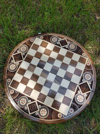 Шахи, шахматы, настільна гра шахи, три в одному, шашки, шахи, нарди
