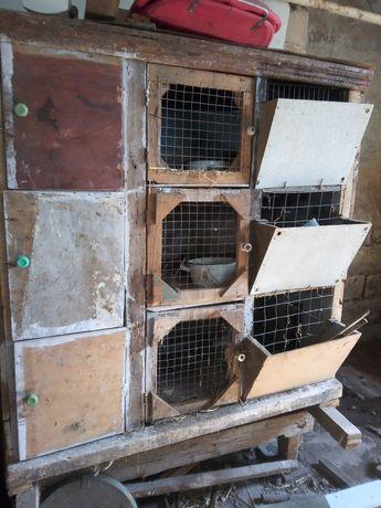 Готовые клетки для кроликов