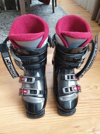Buty narciarskie Nordica 24/24,5, wkładka 23,7cm