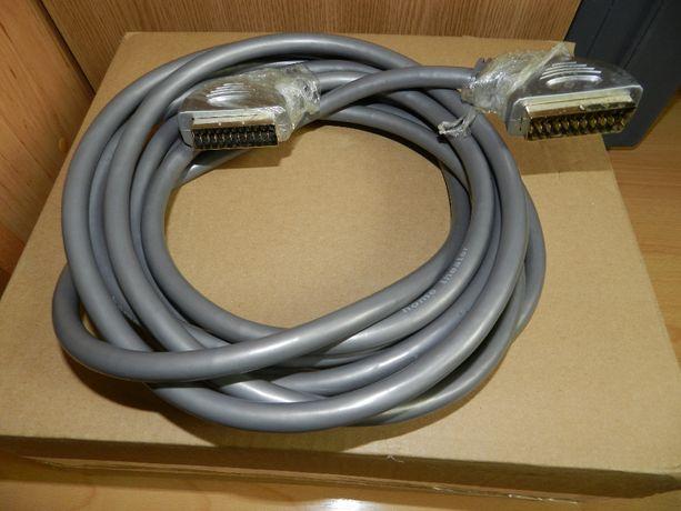 Nowy kabel EURO - EURO 21 PIN 5m.