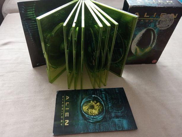 DVD Alien trylogy w jez.Anglish