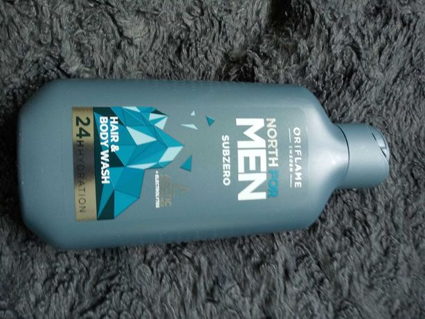 Żel do ciała i szampon North for Men Subzero 250ml