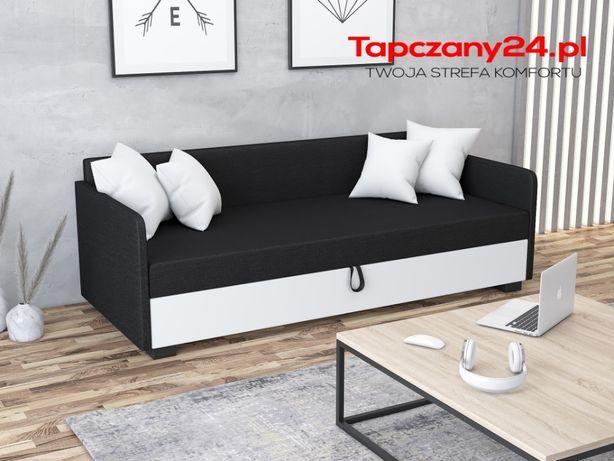 Tapczan Łóżko młodzieżowe jednoosobowe Sofa dla studenta +poduszki