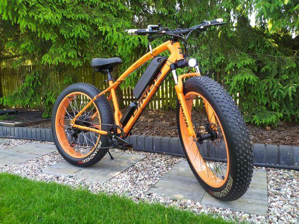 Rower elektryczny Fat bike 750W 48V 12 AH