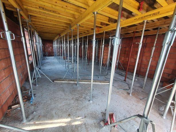 Szalunek stropowy 150m2