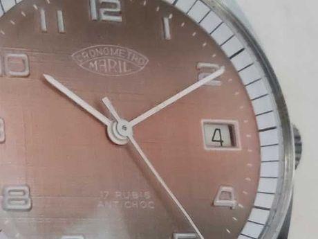 """Relógio de corda """"Cronometro Maril"""" novo"""