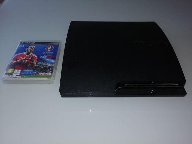 PS3 com jogo como nova