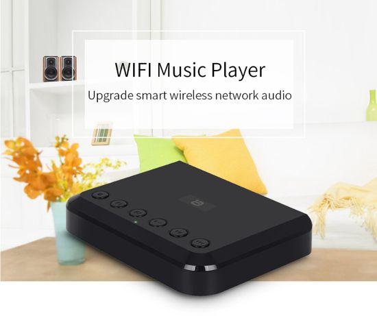 Odtwarzacz sieciowy Wi-Fi, Bluetooth, radio internetowe, Spotify Tidal