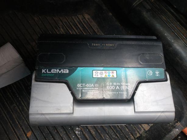 Аккумулятор KLEMA 12в 60Ан 600А