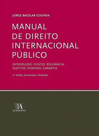 Manual de Direito Internacional Público, de Bacelar Gouveia