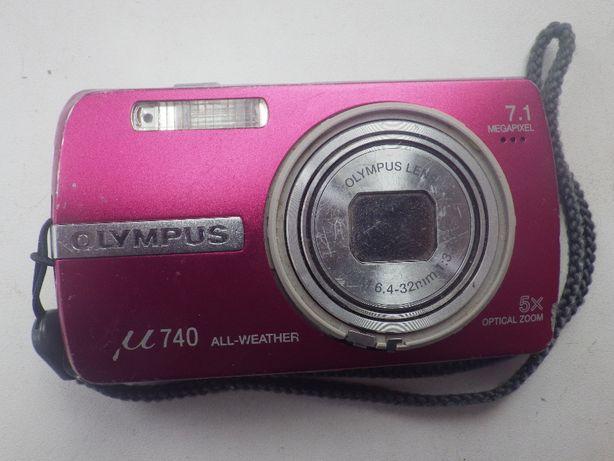 Фотоаппарат Olympus MJU 740. В рабочем состоянии.