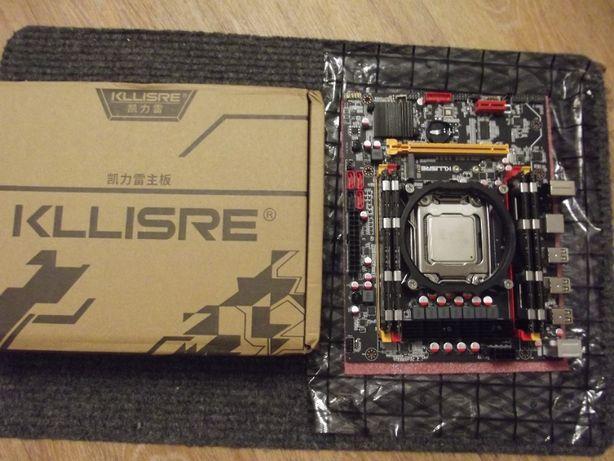 Новый комплект Kllisre X79 Xeon E5-2620 LGA 2011 DDR3 16 Gb