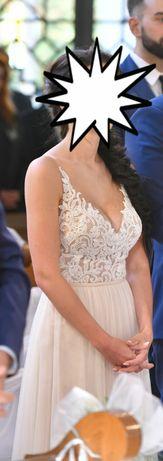 Przepiękna suknia ślubna Stella York model 6555