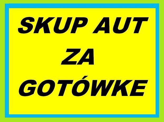 Skup aut - Auto skup KOMIS ! Całe,uszkodzone,powypadkowe po 2000* roku