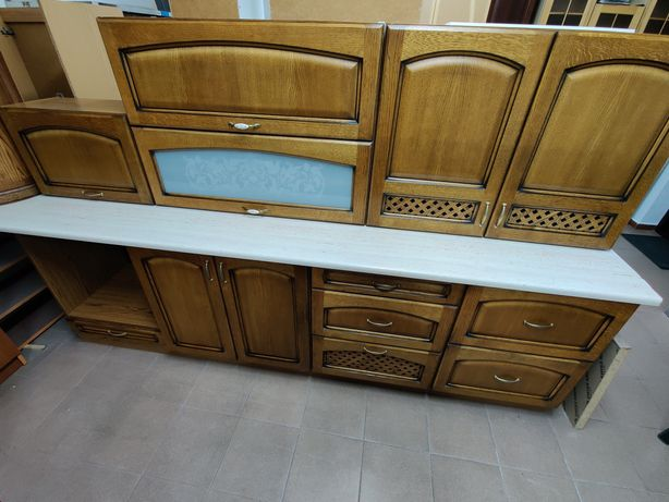 Nowe meble kuchenne dębowe komplet 2.6m