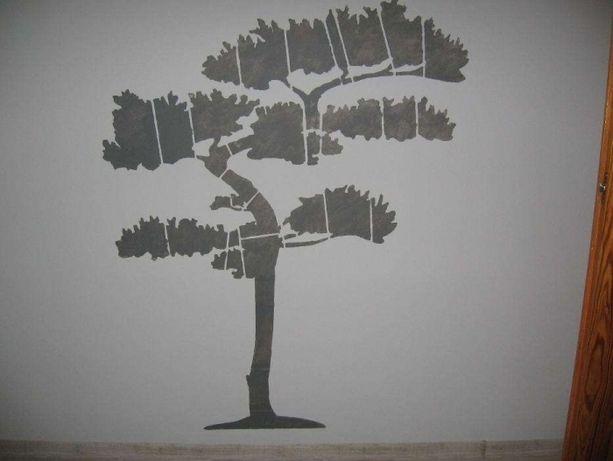 szablon drzewko