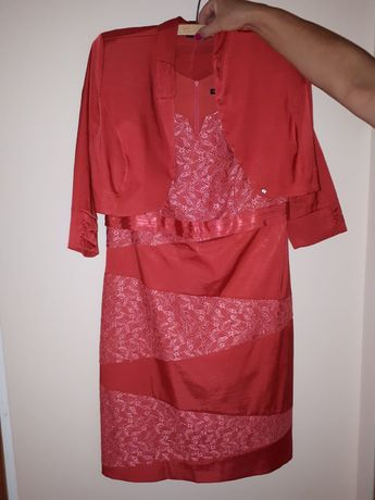 Sukienka z bolerkiem XL