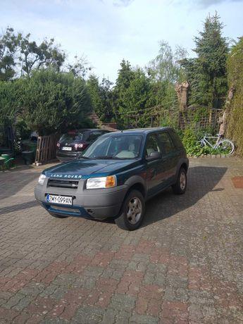 Land Rover po remoncie hak