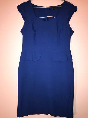Niebieska sukienka 40/42