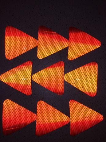 Светоотражающие наклейки светоотражатель світловідбиваючі фликер