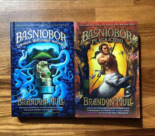 Książki z serii Baśniobór Brandona Mulla, część II i III