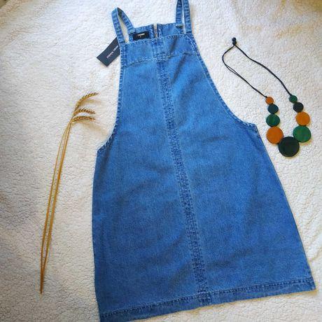 Модный джинсовый сарафан Papaya размер М 44-46