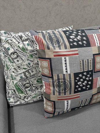 Купить подушки и наволочки к ним.