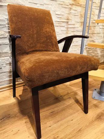 Fotel Puchała PRL vintage loft fotele projektu Puchały lata 50'te