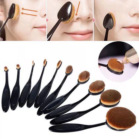 Кисти для макияжа( набор 10 штук)