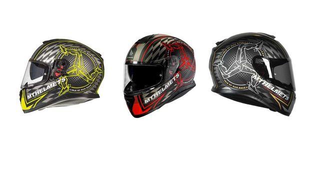 Capacete Mt Helmets Thunder 3 Isle Of man (3 cores)