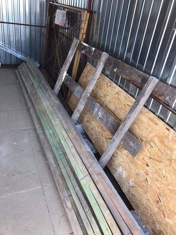Drewno - deski kantówki łaty 4cm x 5cm x 4m 18 szt. + 2 gratis