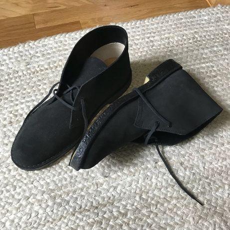 Дезерты Clarks desert boots originals замшевые 43 размера