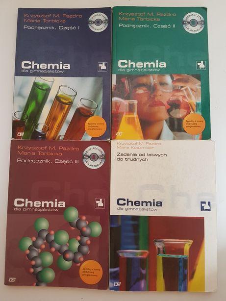 Chemia dla gimnazjalistów podręcznik część 1 2 3 zadania od łatwych
