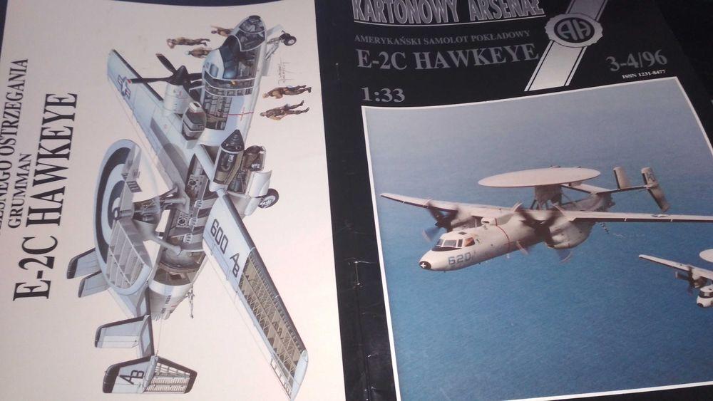 Model kartonowy Haliński E-2c Hawkeye Łódź - image 1
