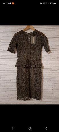 Sukienka koronkowa r.XS nowa  metką vero moda