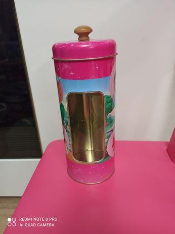 Puszka metalowa na drobiazgi, do kuchni Księżniczki Disney. Wysyłka 8