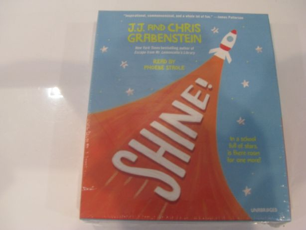 Nowy audiobook-shine-J.J.and Chris Grabenstein-język angielski