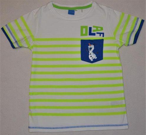 Bluzka chłopięca t-shirt Cool Club, Reserved, C&A, Pepco rozm. 122