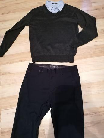 Sweter i spodnie